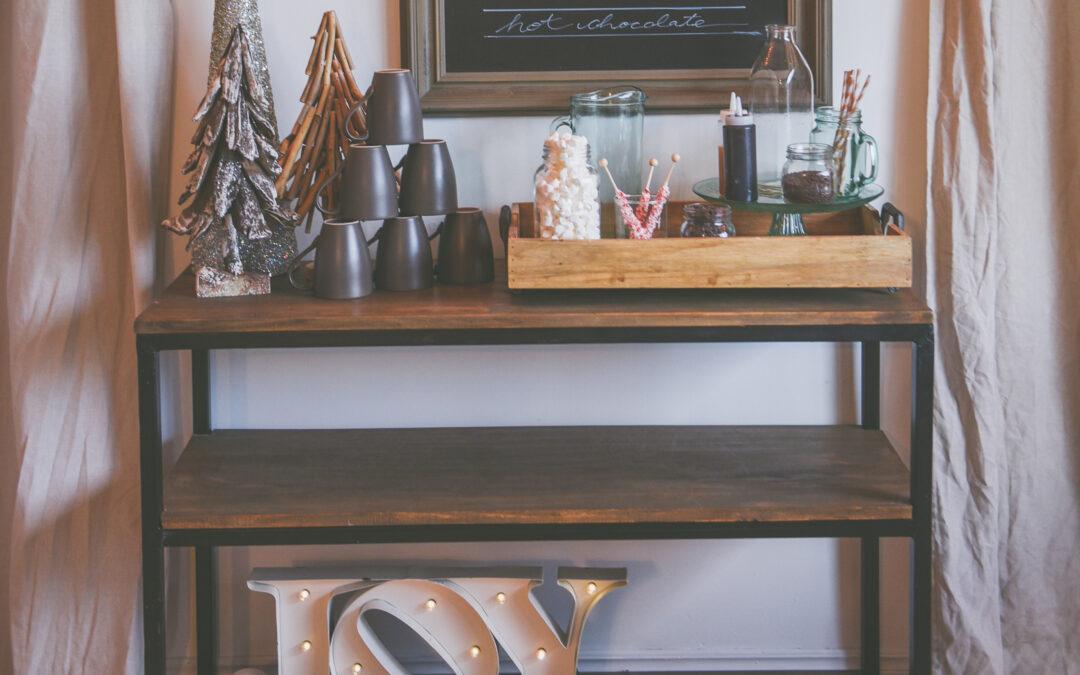 Holiday Hot Chocolate Bar – A Fun Simple Set – Up