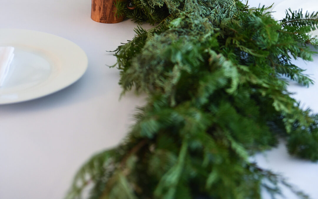 Winter Wonderland – A Simple White Table